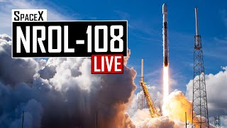 SpaceX NROL-108 Top Secret Satellite Launch 🔴 Live