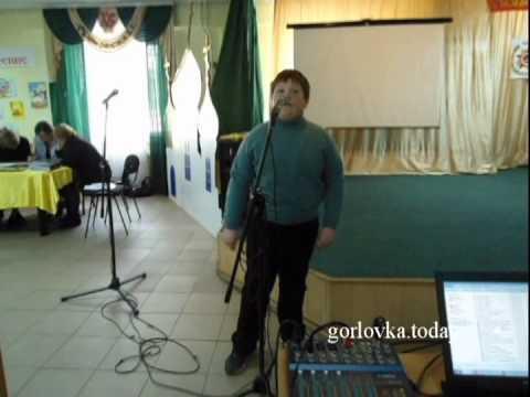 Ученик школы Горловки поет Смуглянку