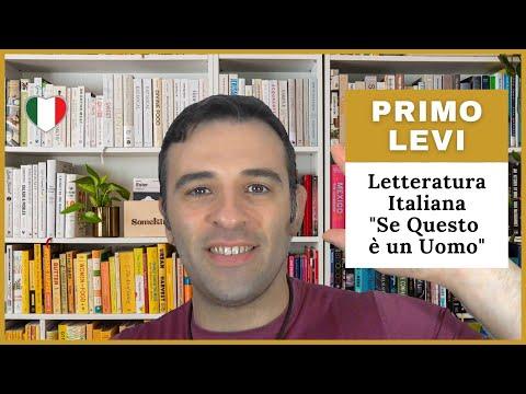 Curso de Italiano - Primo Levi - Literatura Italiana e Historia de Italia