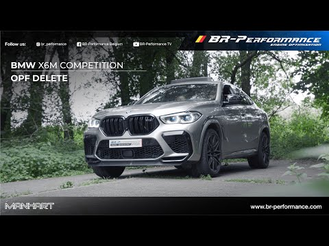 BMW X6M Competition / Manhart OPF-delete / By BR-Performance