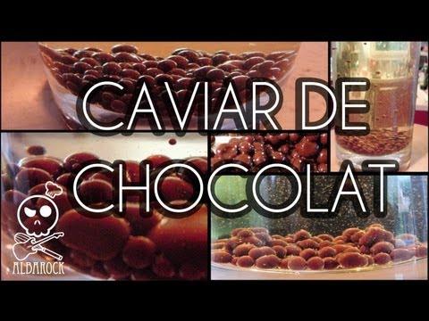 Caviar de chocolat cuisine mol culaire recette facile - Spaghetti cuisine moleculaire ...