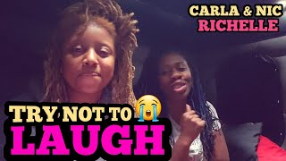 Try Not To Laugh Challenge | NIC & CARLA | TRUCKING COUPLE