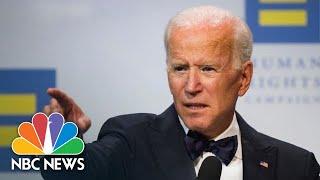 Former Vice President Joe Biden: 'The President Uses The White House As A Literal Bully' | NBC News