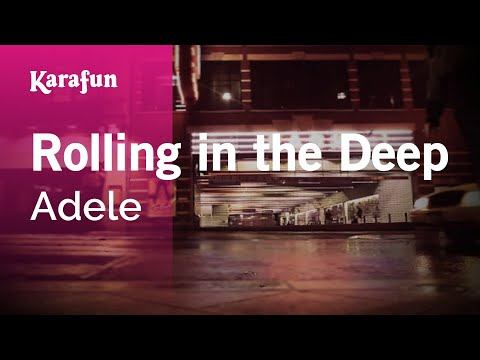 Karaoke Rolling In The Deep - Adele *