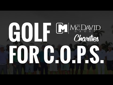 Golf for C.O.P.S. - The McDavid Group Charities 2016