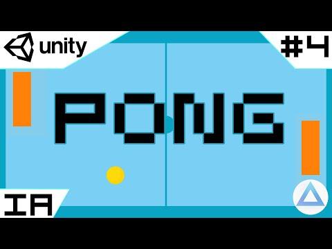 Como hacer PONG en UNITY, Tutorial!🏓/ INTELIGENCIA ARTIFICIAL /4-Capitulo