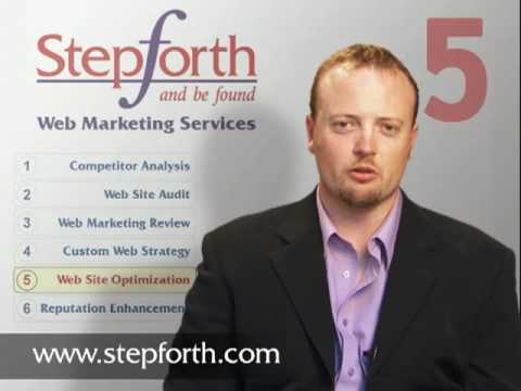 STEP 5 of the 6 Steps to Web Marketing Success