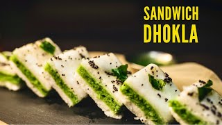 How to Make Sandwich Dhokla in Hindi | Make Recipe at Home | Chef Meghna