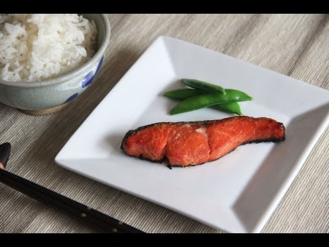 Miso Grilled Salmon Recipe - Japanese Cooking 101