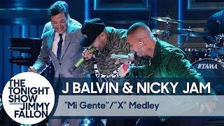 "J Balvin & Nicky Jam:""Mi Gente""/""X"" Medley"
