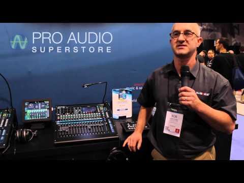 Allen & Heath Qu-16 & Qu-24 Digital Mixers NAMM 2014