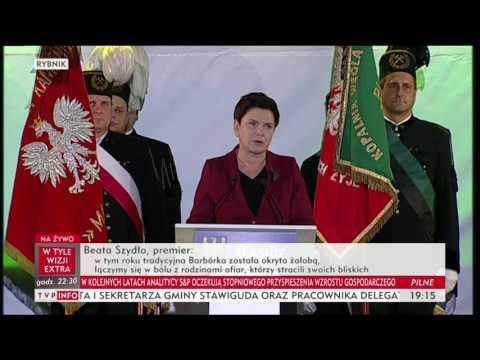 Premier Beata Szydło: nie będzie silnej polskiej gospodarki bez silnego polskiego górnictwa