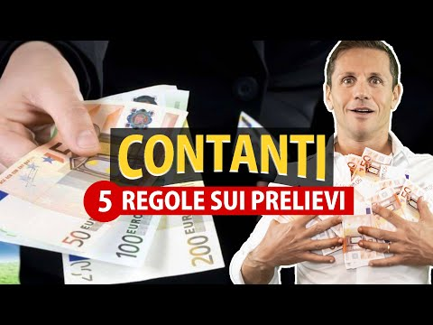 5 regole sui PRELIEVI di CONTANTI: i SOLDI vanno giustificati? | Avv. Angelo Greco