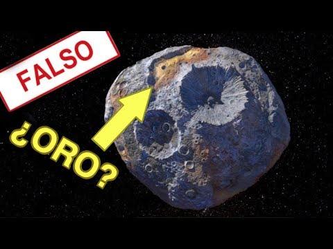 ¿Tiene Oro Este Asteroide Realmente?