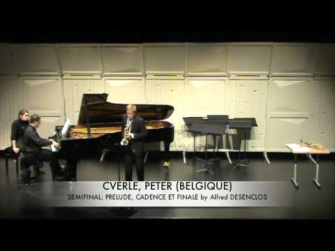 CVERLE, PETER (BELGIQUE) Prelude, Cadence et Finale by Alfred DESENCLOS