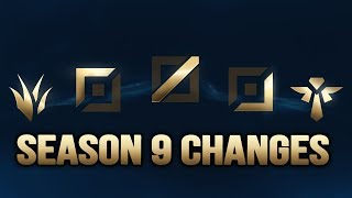 Season 9 Future Changes and why the Season 8 meta changed so much