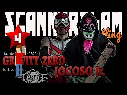 Jocoso Jr. y Gravity Zero, luchadores de la Spanish Pro Wrestling (SPW) en ScannerSlam | scannerFM