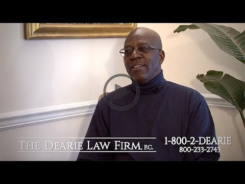 Motor Vehicle Accidents Testimonial Walter for The Dearie Law Firm in New York City