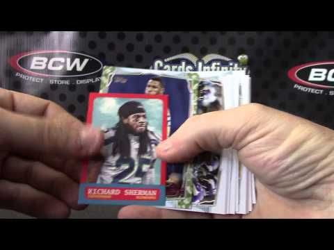 Gary's 2014 Topps JUMBO & Hot Rookies Football 2 Box Break