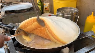 India's Fluffiest Omelet Making   Super Fluffy Omelet   Indian Street Food