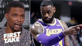 We're in uncharted territories if LeBron misses the playoffs - Chris Bosh | First Take