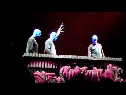 Blue Man Group Pipe Medley (with Crazy Train & Lady Gaga)
