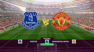 Everton vs Manchester United - EPL 21 April 2019 Gameplay