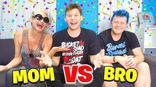 WHO KNOWS ME BETTER? MOM vs BRO
