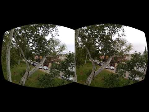 Oculus Rift Movie test