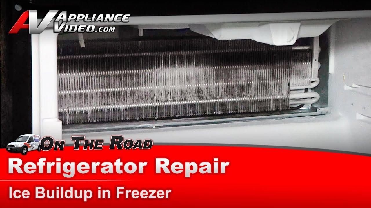 Refrigerator Repair Amp Diagnostic Ice In Freezer Maytag