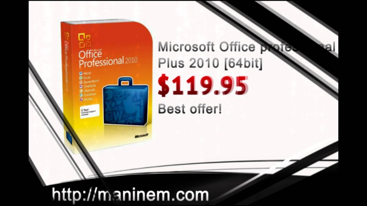Buy Cheap Microsoft Office Professional Plus 2010 [64 Bit ...