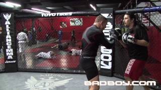 Ross Pearson Training for UFC on FX 6