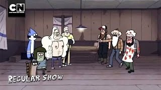 Inferno Wing Challenge I Regular Show I Cartoon Network