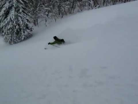 Ski touring on Mount Yotei, Hokkaido Japan