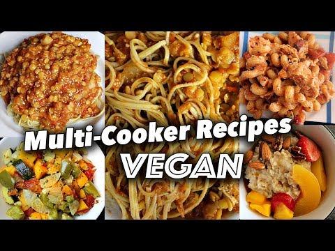 ONE POT RECIPES using a MULTI-COOKER (VEGAN) || Cuckoo 8 in 1 Multi Pressure Cooker