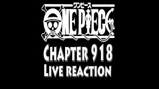 WTF???!! One Piece manga chapter 918 live reaction - The Ghosts of the Wano country?! #onepiece