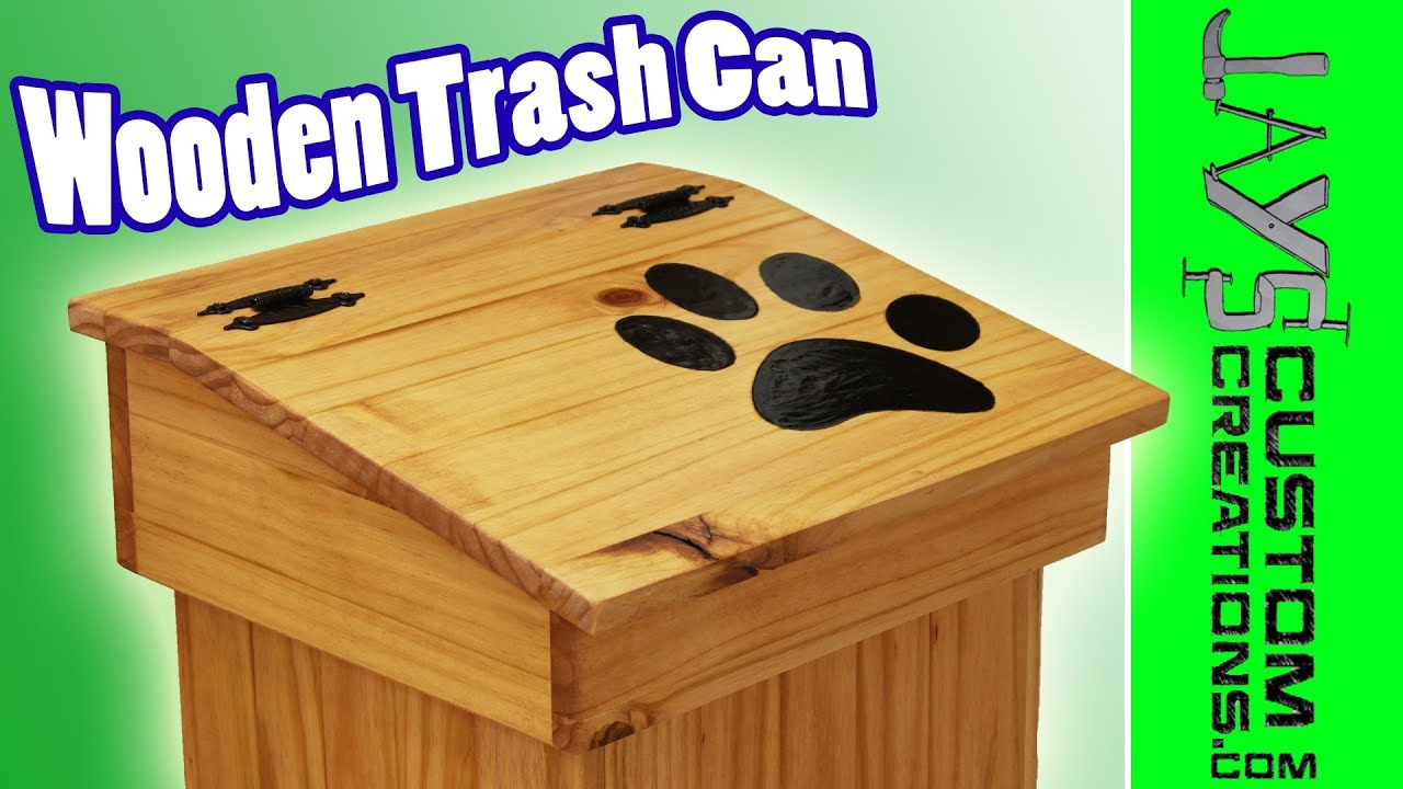 Free Wooden Garbage Box Plans News Woodworking Plans