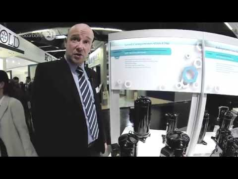 Emerson Climate Technologies Interview with Sylvain Lamy at Chillventa 2014