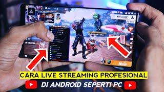 Aplikasi Terbaik Live Streaming Di Youtube Pake HP | Cara Live Streaming Di Hp - Prism Live Studio