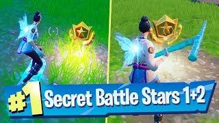Fortnite Season X Week 1 + 2 Secret Loading Screen Battle Pass Star Locations