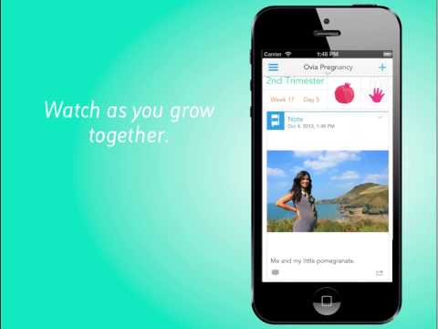 Ovia Pregnancy Tracker by Ovuline for iOS7