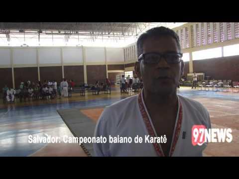 SALVADOR CAMPEONATO BAIANO DE KARATÊ