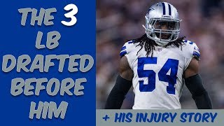 Who Were The 3 Linebackers Drafted Before Jaylon Smith? Where Are They Now? (+ His Injury Story)