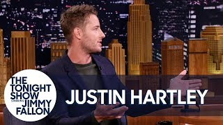 Justin Hartley's Daughter Screams Innocently Embarrassing Things at Him in Public