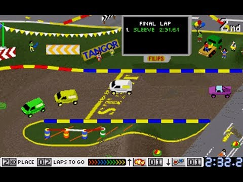 Race Mania (Championship: Bump 'n' Hump) (Tangor) (MS-DOS) [1996]