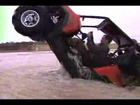 Polaris RZR Water Wheelie (Extreme Snorkels)
