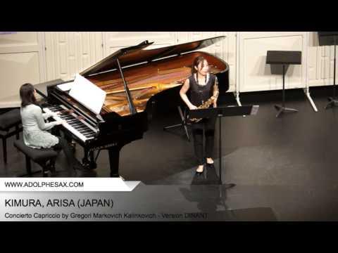 Dinant 2014 - Kimura, Arisa - Concerto Capriccio by Gregori Markovich Kalinkovich