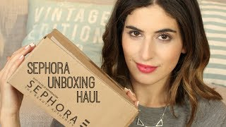 Lily Pebbles – Sephora Unboxing Haul