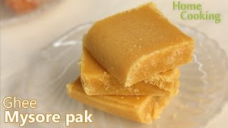 Ghee Mysore pak | Ventuno Home Cooking
