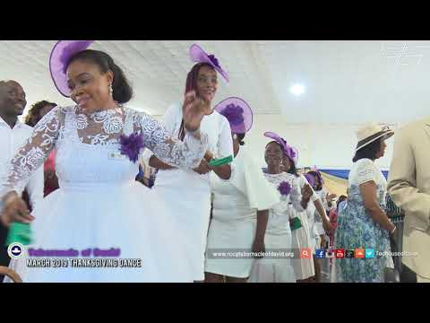Thanksgiving Dance Sunday 3rd March 2019